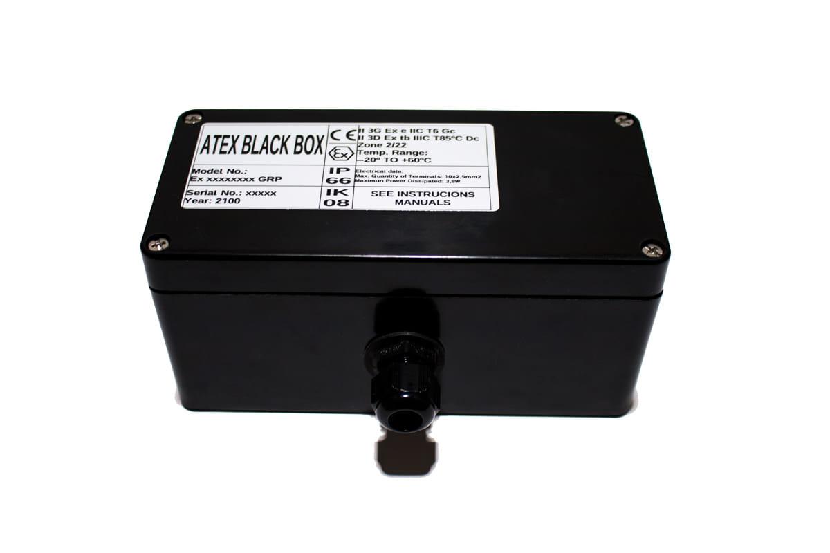 ATEX Junction Box 160x75x75 – ATEX BLACK BOX