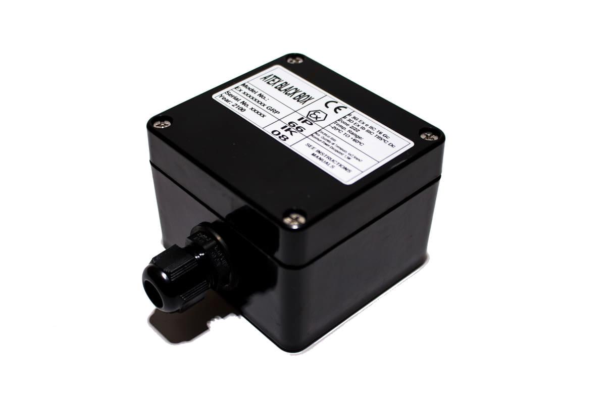 ATEX Junction Box 80x75x55 – ATEX BLACK BOX